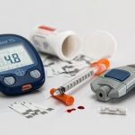 A blood sugar monitor and medication